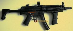 Full Metal MP5 Navy with RAS  Jing Gong (071T)